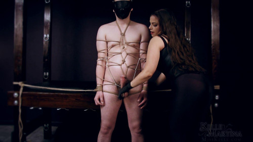 Femdom and Strapon Kelle Martina Trapped in My Web (2017)