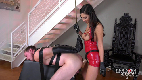 Femdom and Strapon Abused by Dick - Goddess Gianna Dior - Full HD 1080p