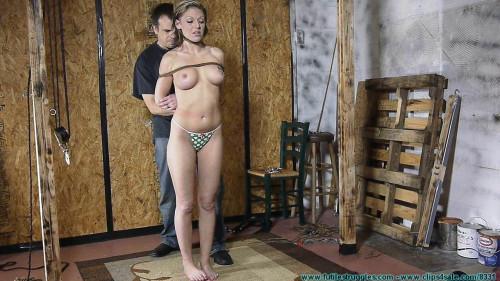 BDSM Courtneys Strict Hogtie