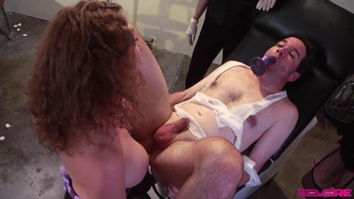 Femdom and Strapon Creepy Gynecologist Gangbang - Scene 3 - Full HD 1080p