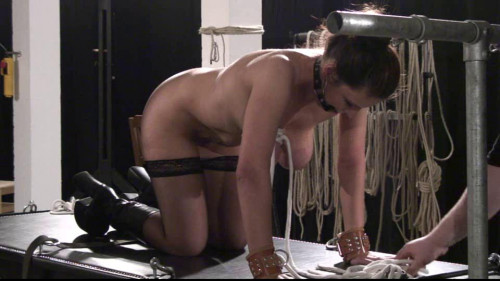 BDSM Toaxxx - tx122 Xtreme Breast Bondage for Bettine - pt 1