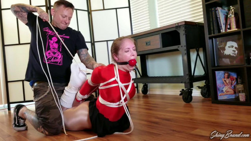 BDSM Tied Up After Dance Class