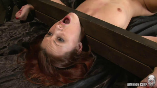 BDSM Tight bondage, strappado and torture for very sexy slut part 2