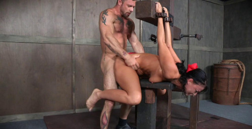 bdsm London Struggles In Bondage While Being Fucked