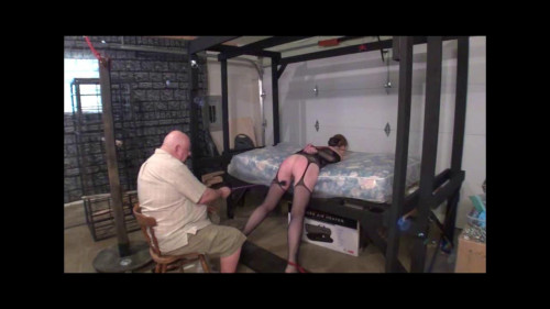 bdsm Kristyna Tied For The Crop