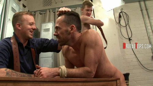 Gay BDSM Master Derek and Master Edward part3