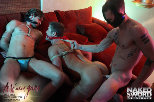 Gay BDSM NakedSword  A Wicked Game Episode 4