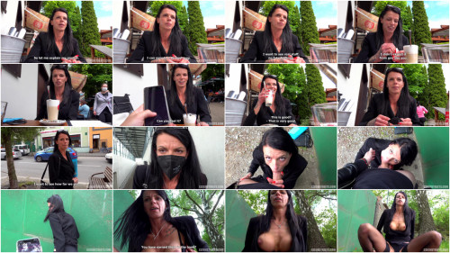 Gonzo (Point Of View) Dominika - MILF Walking On Public With Vibrator (2021)