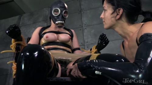 BDSM Latex Squeaky Clean - Veruca James