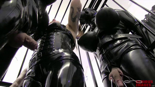 Femdom and Strapon Miss Velour - Caged Dolls
