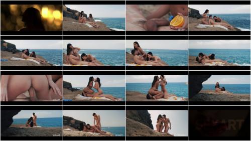 Threesome Baby Nicols & Mina Moreno & Chris Torres - Two On One