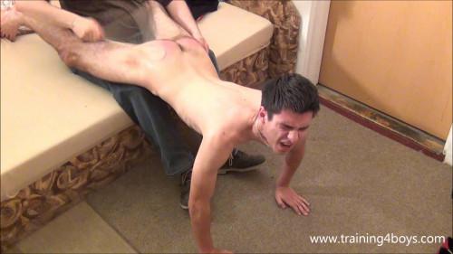 Gay BDSM Filip Wooden Spoon