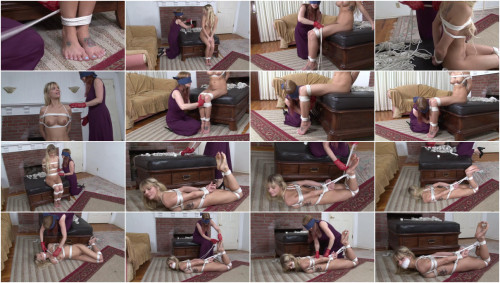 BDSM The Blindfolded Rigger Lorelei Ties Jana Jordan