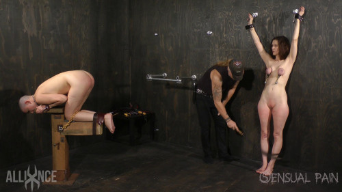 bdsm Tandem slave Beating (Jan 8, 2017)