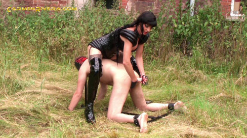 Femdom and Strapon Sexercises Of My Slut Chapter Two Carmen Rivera Slutty Bitch Lucia (2014)