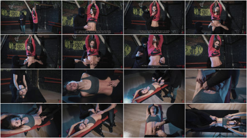 BDSM HD Bdsm Sex Videos Neutralizing young fighter by abs tickling
