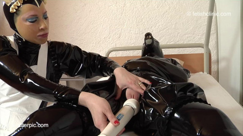 BDSM Latex Knuckle Up - 2 of 2 - Anna Rose and Phoenix