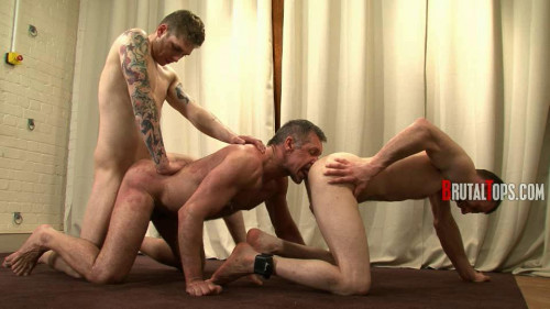 Gay BDSM Session part 371 Master Kyle and Master Aaron