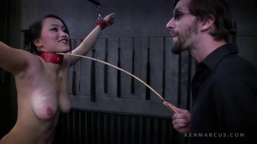BDSM Bondage, spanking, strappado and torture for horny naked slut HD 1080p