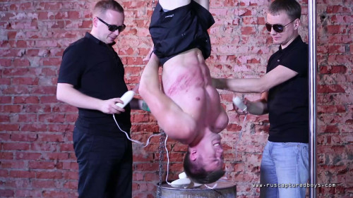 Gay BDSM RusCapturedBoys – Captured worker - Final Part