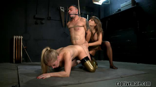 Femdom and Strapon Tardiness Punished