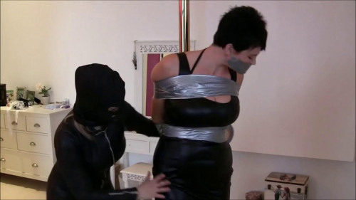 bdsm Catsuit Burglar Tapes Two