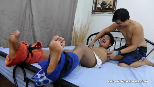 Gay BDSM Tickle Boy Russel
