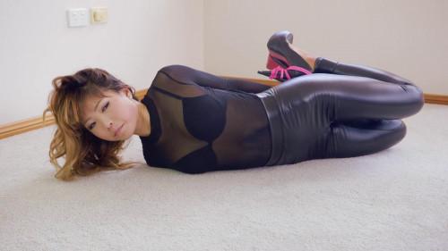 BDSM Slick Leggings Hogtie