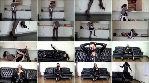 BDSM Latex Belle Davis : Society of Bored Housewives