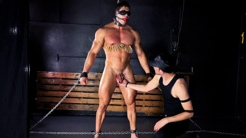 Gay BDSM Stefano Blind Muscle