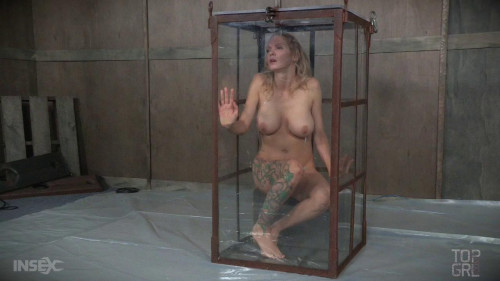 BDSM Fear Play With Busty Slave