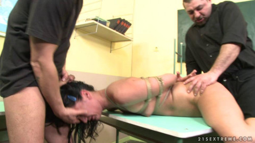 BDSM Dominated Girls - Last day in the school