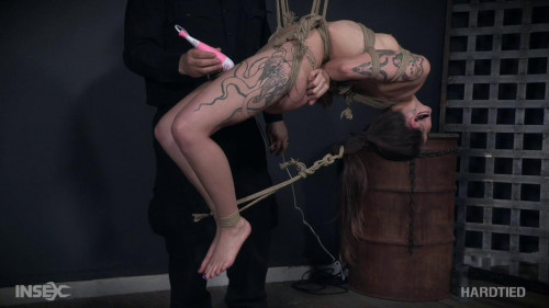BDSM Suspended Climax  - Luna Lovely