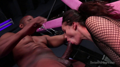 bdsm Leilani Gold face fucked by prince yahshua