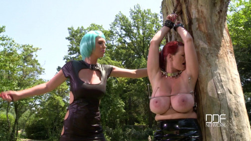 BDSM Latex Vanessa And Leigh Darby - Learn Your Lesson