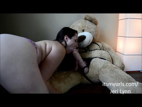 Fisting and Dildo Thick Mom Fucks Big Dirty Bear Dick