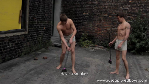 Gay BDSM RusCapturedBoys - Slaves Competition - Part I