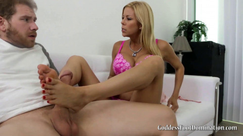 Femdom and Strapon Alexis Fawx Caught Smelling Stepmoms Stockings (2016)