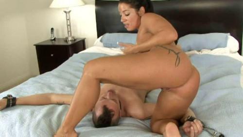 Femdom and Strapon Worship My Latina Ass Vol.9