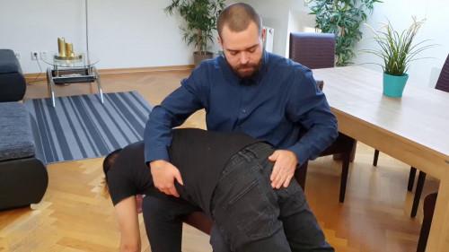 Gay BDSM Oliver Maintenance Spanking