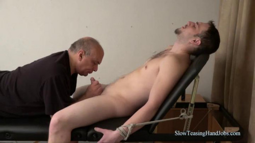 Gay BDSM Corey Edged and Tickled