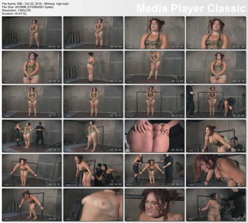 BDSM Bottomless Mimosa Part 1 ,Mimosa , HD 720p