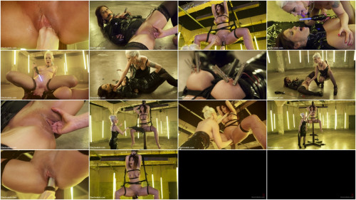 BDSM Desperate Slut Syren de Mer Begs to be Electro Fucked and Fisted