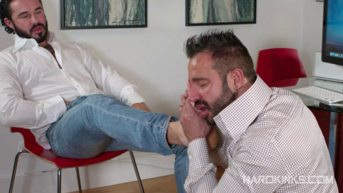 Gay BDSM Hairy Alpha (Jessy Ares and Martin Mazza)