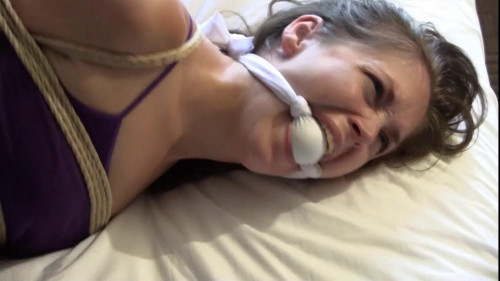 BDSM Ashley Stretched Out