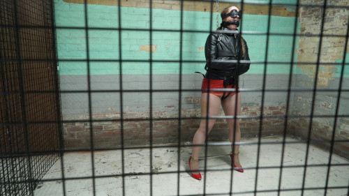 BDSM Pepper Locked In Cuffs And Jackets vol.1