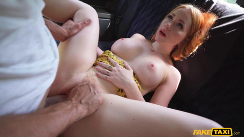 Hot Ride With A Redhead Pretty Girl