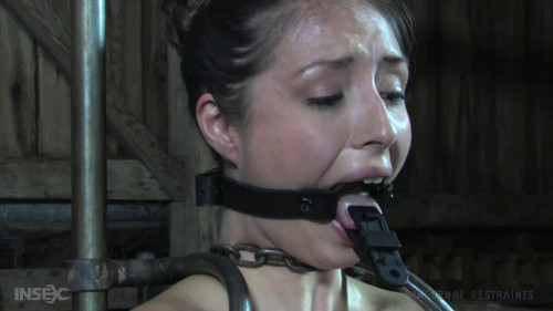 BDSM Tight bondage, torture and domination for horny brunette part 2 Full HD