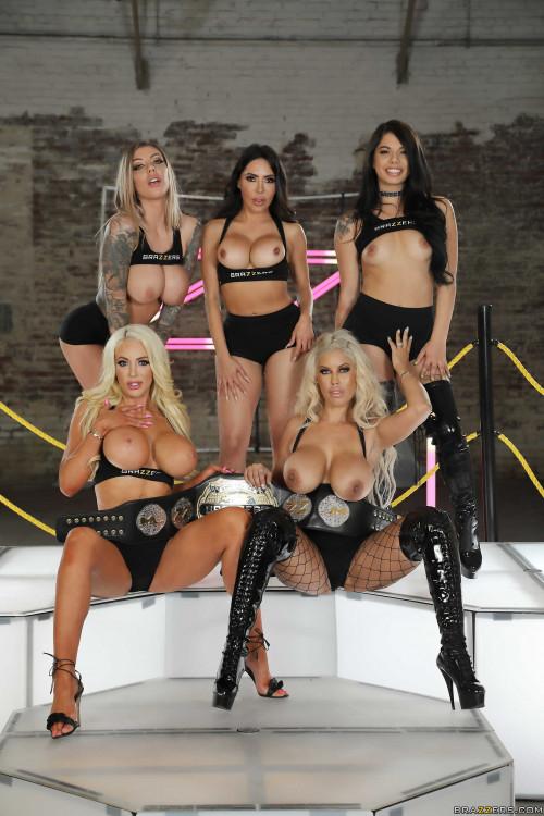 Bridgette B, Gina Valentina, Karma Rx, Lela Star, Nicolette Shea House 3 Finale