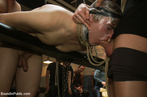 Gay BDSM Sex in The Slaughter House